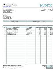 sample work invoice expin memberpro co