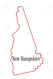 New Hampshire State Map by 212 New Hampshire Outline Stock Vector Illustration And Royalty