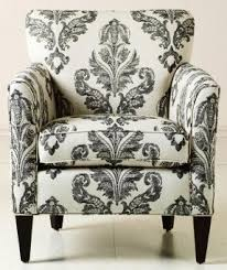 Printed Fabric Armchairs Fabric Accent Chair Foter