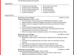 objectives resume sample resume enchanting account manager resume cov stunning account