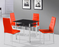 Glass Dining Room Furniture 15 Shimmering Square Glass Dining Room Tables Home Design Lover