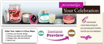 personalize candles personalized candle labels custom candle labels candle tin