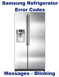 fridge red light refrigerator red light blinking best electronic 2017