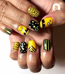 try 50 stunning yellow nail designs and get ready for beach party