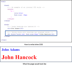 cascading style sheets css definition types u0026 examples video