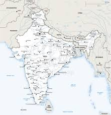 India Map Blank Pdf by India Politcal Map Of India