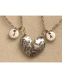 personalized necklaces for get the deal heart necklace for best friend gift ideas friendship