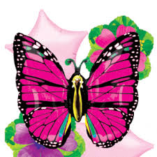 Butterfly Balloons Quinceanera Butterfly Party Decorations How To Decorate A