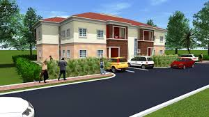 4 bedroom semi detached duplex 9th mile housing estate 4 bedroom semi detached duplex with one room bq