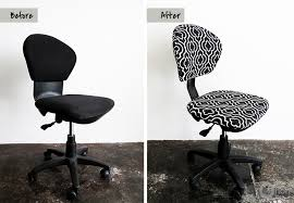 Diy Desk Chair The Office Chair Makeover Ohoh