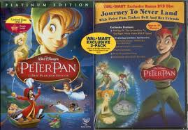 peter pan 2 disc platinum edition wal mart exclusive bonus