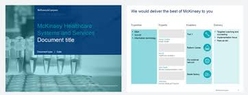 Mckinsey S Branding Guidelines And Powerpoint Templates Present Mckinsey Ppt