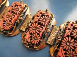 copper link bracelet images 177 best vintage bangles bracelets images charm jpg