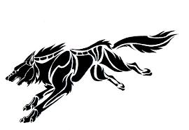 tribal wolf best farel template