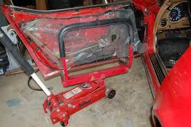 1968 82 corvette door hinge and window repair cc tech