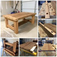 Make Your Own Coffee Table by Home Design Trendy Homemade Table Plans How To Make Your Own