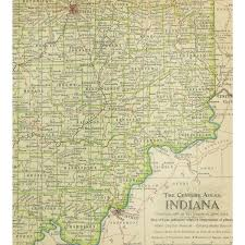 Map Indiana Map Indiana 1897 Original Art Antique Maps U0026 Prints