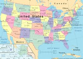 map us landforms us carbon footprint map united states mappery adventures in third