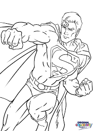 superheroes u2013 coloring pages u2013 original coloring pages