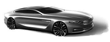 bmw pininfarina gran lusso coupe design sketch car body design