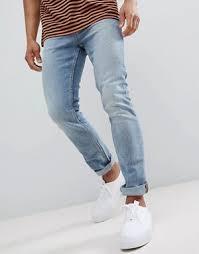 mens light blue jeans skinny men s jeans skinny vintage bootcut jeans for men asos