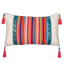 find the boho lumbar pillow by ashland at michaels