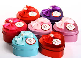 Heart Shaped Candy Boxes Wholesale European Style 7 7 4 4cm Heart Shaped Tin Candy Box With Butterfly