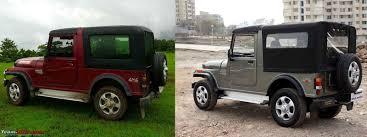 jeep hardtop interior the most practical u0026 best looking hardtop mahindra thar team bhp