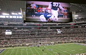 contemporary art and fake populism at cowboys stadium glasstire at
