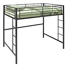 Walker Edison Full Metal Loft Bed Black Hayneedle - Double loft bunk beds