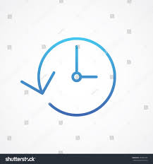 clock history time icon vector illustration stock vector 230991604