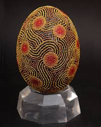 Decorating Easter Eggs With Lace by 82 Best Carving Eggs Eggs Lace Images On Pinterest Egg Art