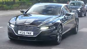 2016 lagonda taraf the 1 first aston martin lagonda on the roads in uk youtube