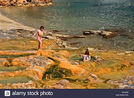 Natural Pools by Small Natural Pools With Water From The Springs Ext To The Sea