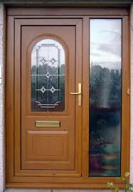 Clear Glass Entry Doors by Single Exterior Glass Doors