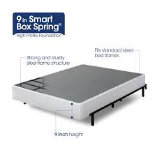 Bed Frame Box 9 Inch High Profile Smart Box Spring Zinus