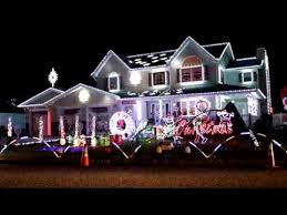 house with christmas lights to music long island christmas light display synchronized with music youtube