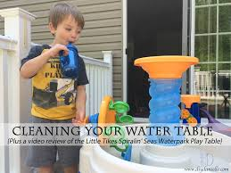 Little Tikes Play Table Cleaning Your Water Table Plus A Video Review Of The Little Tikes