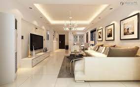 Interior Designs For Apartment Living Rooms False Ceiling Design Small Apartment Room Interior Flat Screen