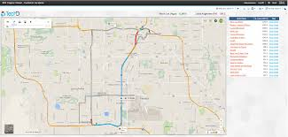 Google Maps Las Vegas Nv by Cognos Bi With Google Maps Ibm Cognos U0026 Big Data Solutions Techd