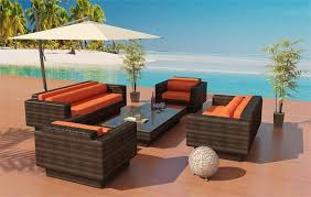 Outdoor Furniture Daybed Olympia Outdoor Wicker Sofa With Daybed Table By Las Vegas Patio