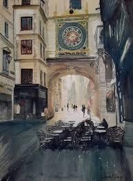 horloge a personnaliser rue du gros horloge à rouen