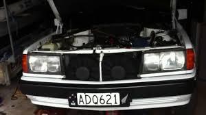 mercedes 190e 2 6 m103 manual no exhaust youtube