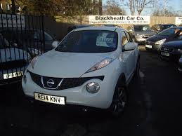 nissan juke used cars for sale used 2014 nissan juke tekna dci 5dr for sale in blackheath london