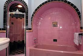 Pink And Black Bathroom Ideas 37 Pink Bathroom Wall Tiles Ideas And Pictures