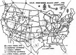 map of the underground in maps underground tunnels unexplained booms and mysterious hums