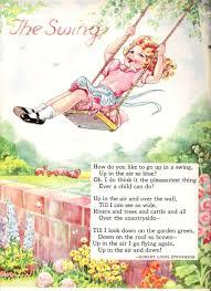 vintage children u0027s rainbow illustration and poem by christina