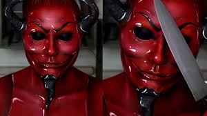 scream queens red devil makeup tutorial jordan hanz youtube