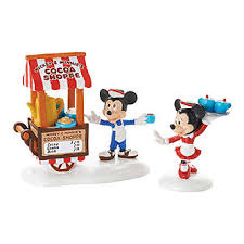 dept 56 mickey s cocoa on the go