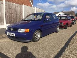 volkswagen polo black modified 1999 vw volkswagen polo 1l 6n modified sell or swap in